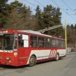 Renovácia trolejbusu prešovského DPMK v Košiciach