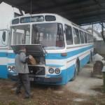 Karosa ŠL-11 Turist je na renovácii v Čechách