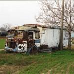 Zopár fotografií vrakov a polovrakov na Slovensku