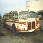 Historický autobus Škdoa 706 RO vo Vozovni Jurajov dvor
