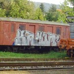 Motorový vozeň M 131 na železničnej stanici Bratislava - Lamač
