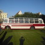 Výstava historických vozidiel DPB počas európskeho týždňa mobility v stredu 16. 089