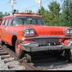 can 1958 pontiac station wagon hyrail used on canadian railways