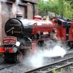 GB  Ravenglass & Eskdale Railway steam rav-080828mi176