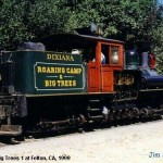 USA steam In 1960 it was sold to Roaring Camp & Big Timbers as 1. js163