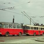CZ Zlin trolleybus 9Tr