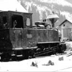 Parná lokomotíva Ľubochňa