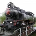 Parná lokomotíva Matej
