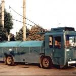 RU kropici trolejbus
