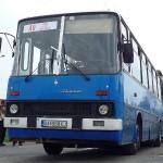 Ikarus 280.10 BA-988XJ na konecnej zastavke ZST Rusovce