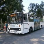 09 Karosa B 732 Cyklobus na konecnej v Mestskom parku