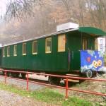 Po dlhých rokoch sa do Čermeľa vrátil vozeň Ca/u (ex Ba/u) 611 alias Hubert
