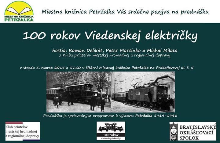 100 rokov Viedenskej elektricky - prednaska