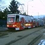 V roku 2013 sa v úlohe Čertovskej električky predstavil voz KT8 D5 č. 529