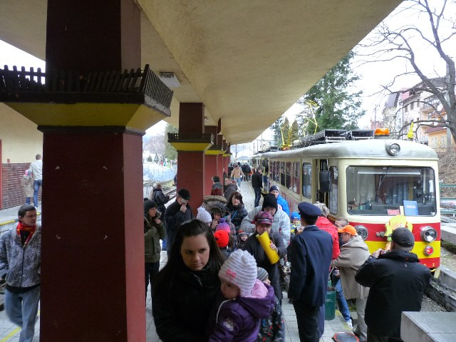 Čulý ruch na stanici Trenčianske Teplice
