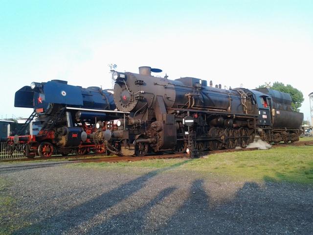 Podvečer v železničnom múzeu