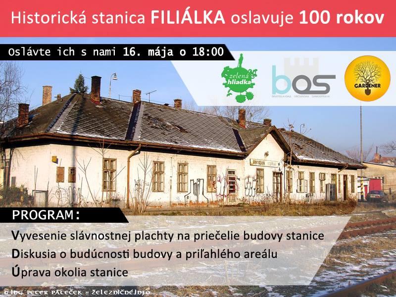 100 rokov stanice Filialka