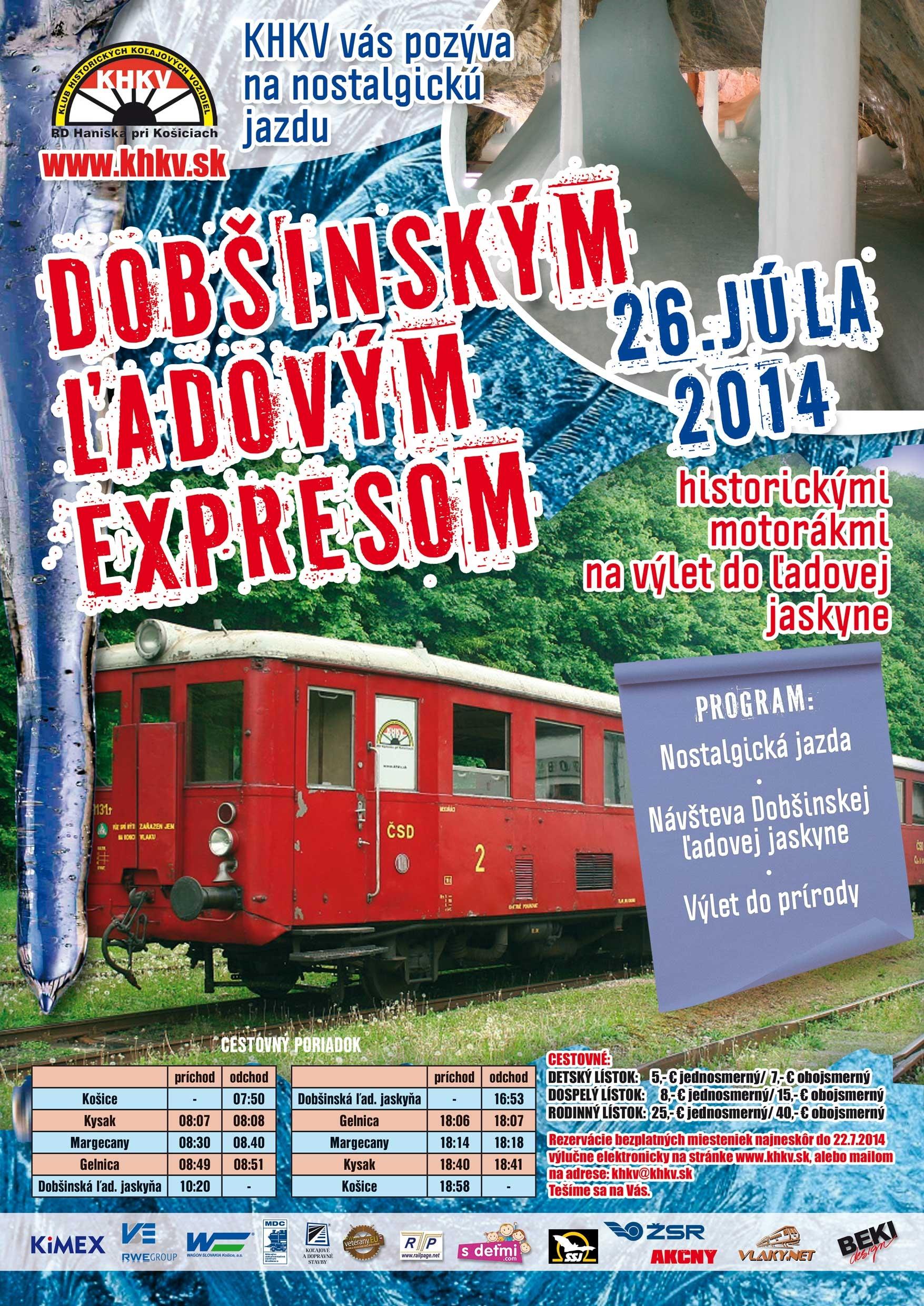 Dobsinsky ladovy expres 2014