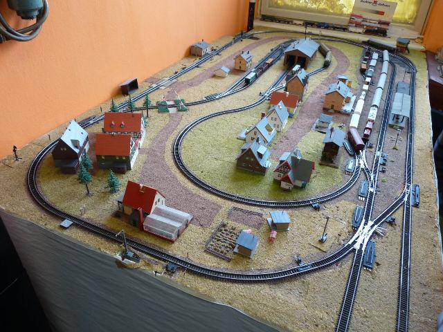 Modelové koľajisko v Železničnom múzeu Lubeník
