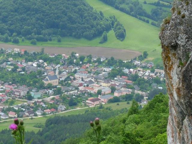 Výhľad z hradu na Muráň