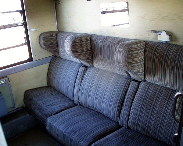 12 kupe prvej triedy len pre sest cestujucich