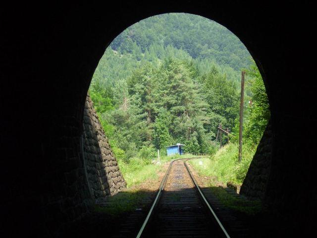 16 zastavka Remata pri pohlade z tunela
