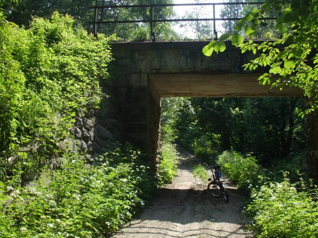 25 lesna cesta a potok pod tratou