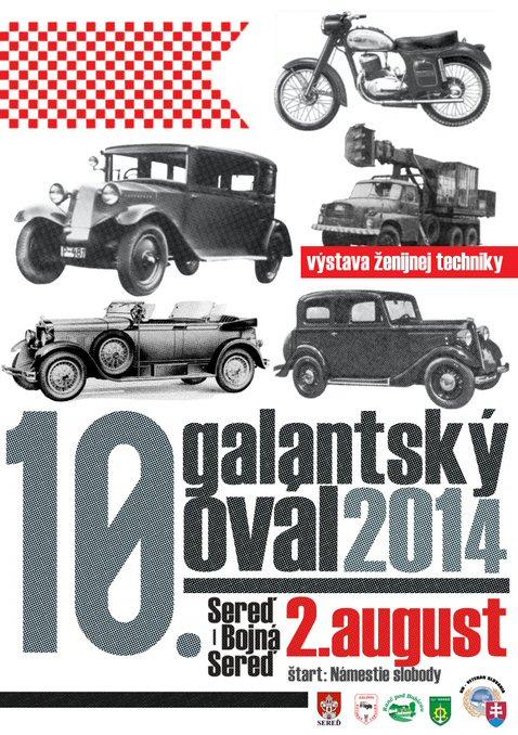 Galanský Ovál 2014 baner