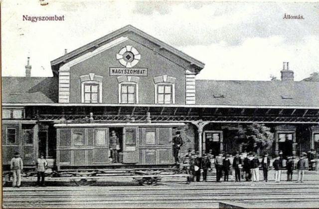 10 priecelie stanice za Rakusko-Uhorska