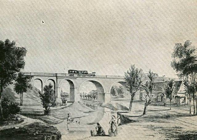 31 viadukt pri Bahoni pocas ery konky