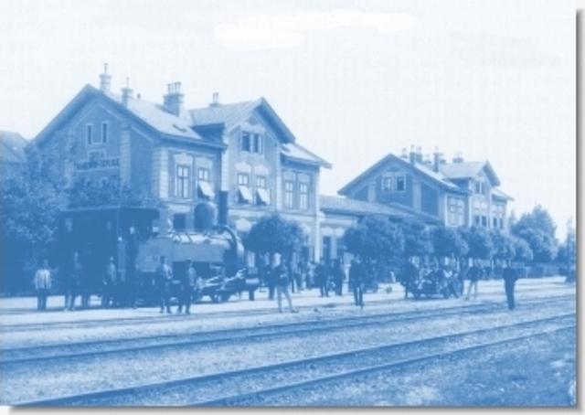 73 povodne budovy zeleznicnej stanice v Trencianskej Teplej