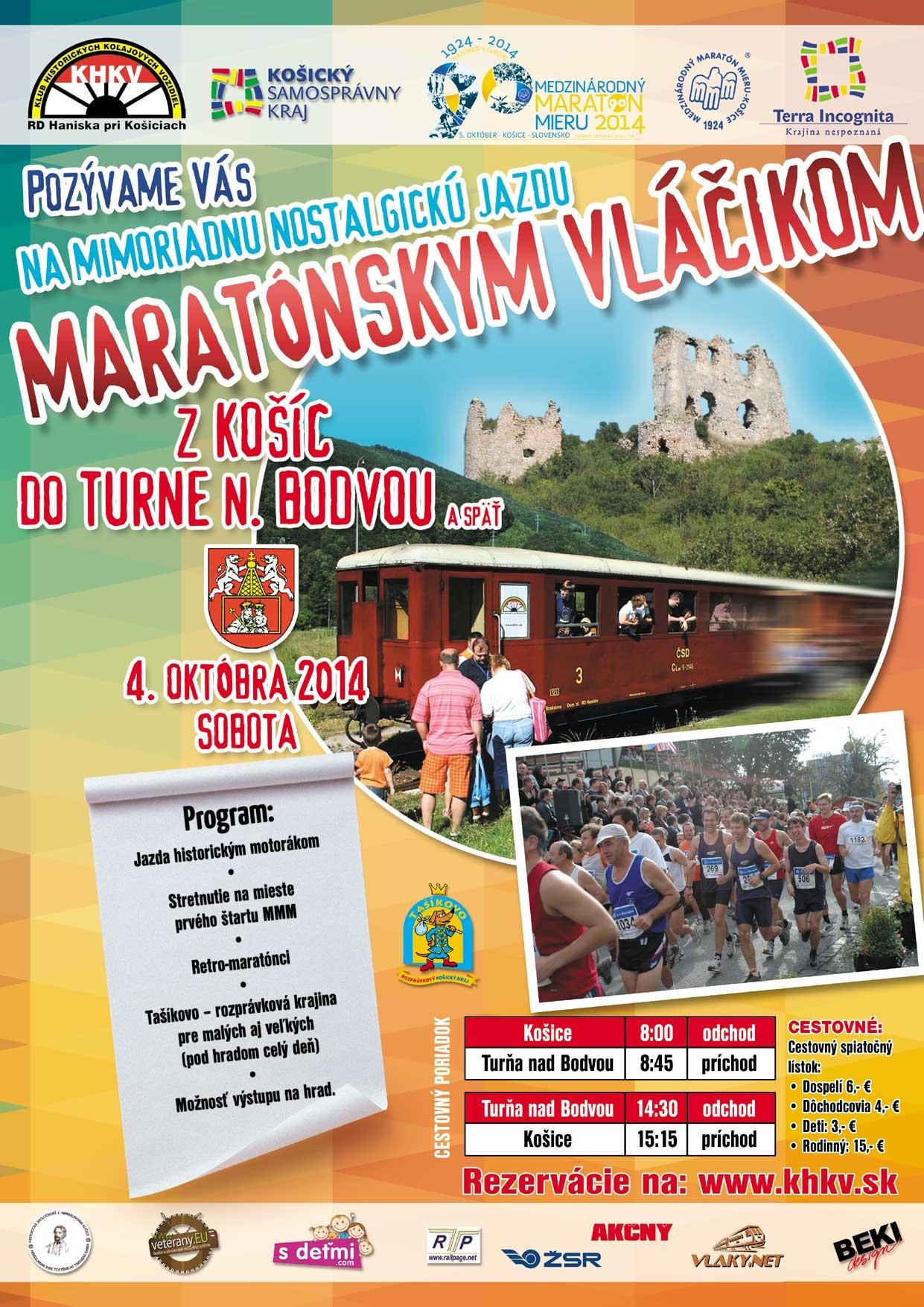 Maratonsky vlacik 2014