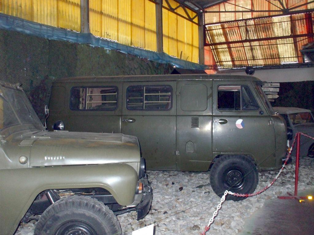 06 sekcia vojenskych ruskych vozidiel