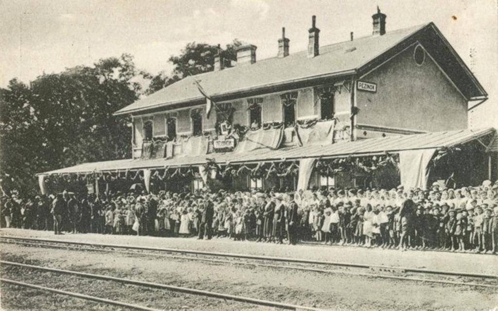19 budova stanice na prelome 19-teho a 20-teho storocia