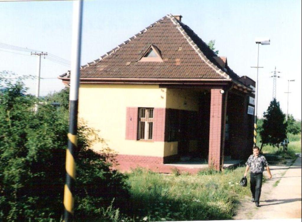 44 zastavka Pezinok- Grinava (Myslenice) kedysi