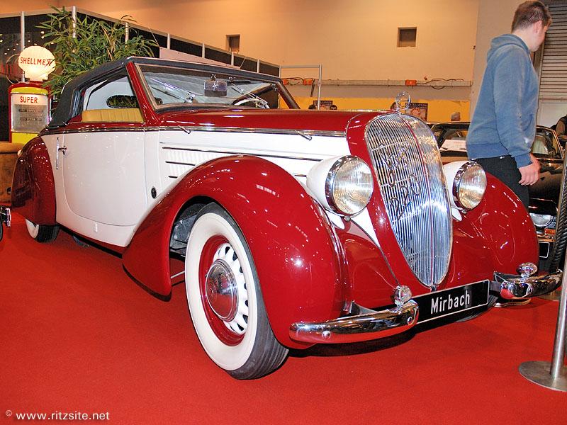 07 Steyr 220 Sport cabriolet Glaser 1937
