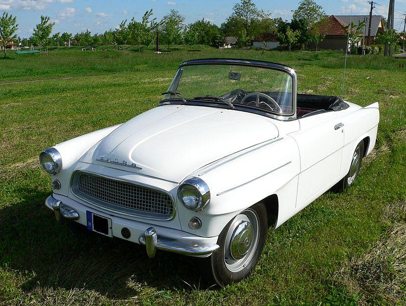 11 Skoda Felicia 1962 cabrio