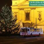 Vianocny trolejbus_Budapest