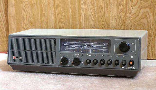 34 moje prve stolove rádio Duetto
