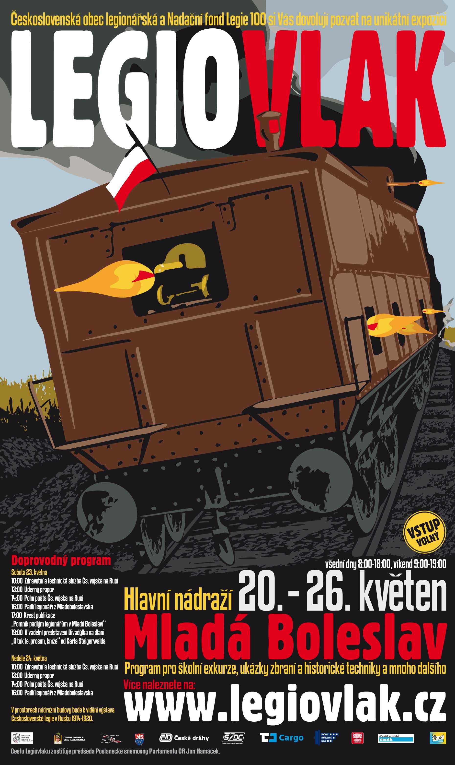 LEGIOVLAK plakát A2