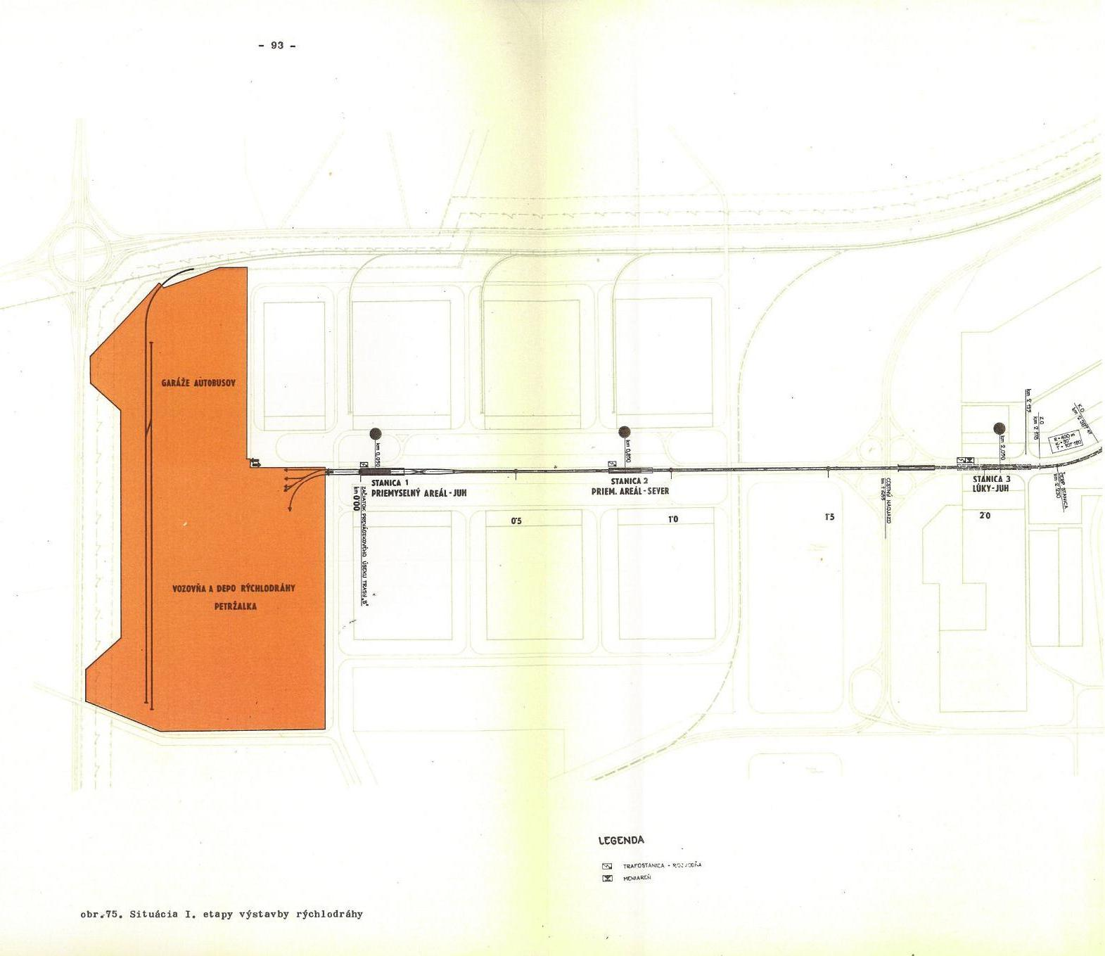 Metro I etapa - trasa 2C 1-3