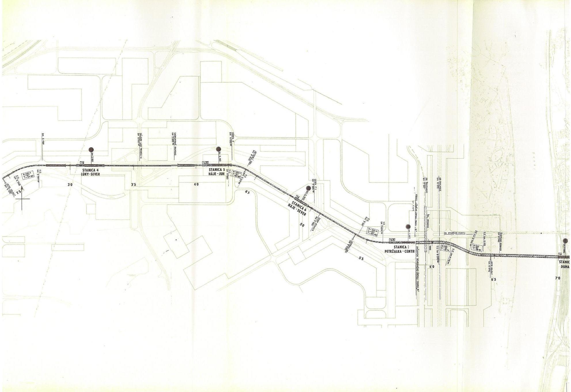 Metro I etapa - trasa 2C 2-3