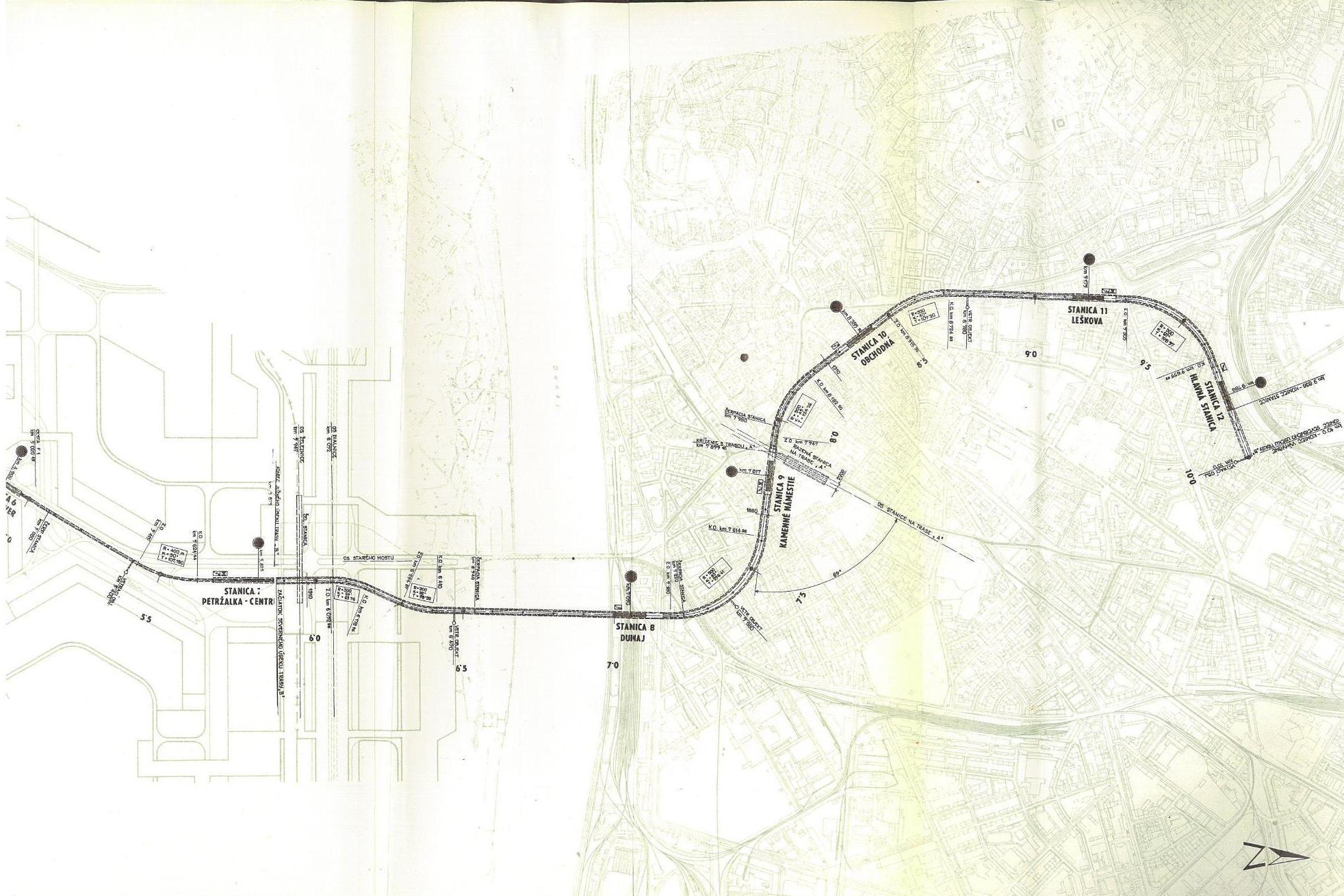 Metro I etapa - trasa 2C 3-3