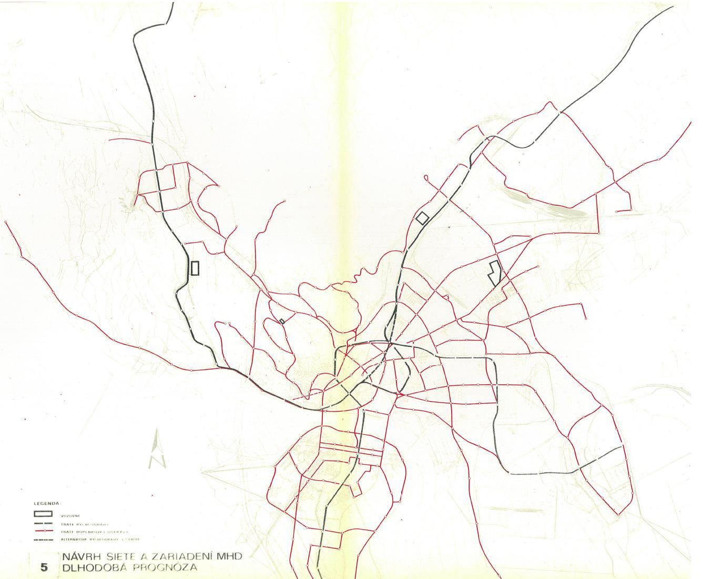 Sieť metra - výhlad