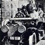 24 v roku 1910 sa ukazal v Bratislave aj T.A.Edison, viezli ho na aute Protos