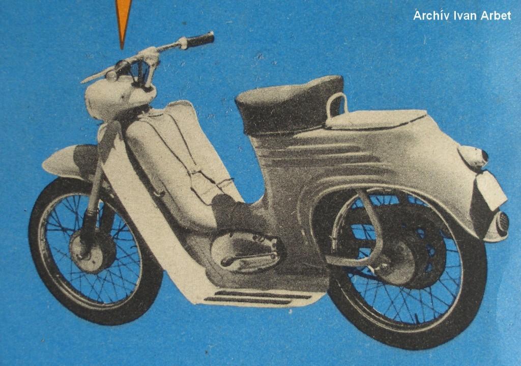 11 dobové archivne foto jedneho z prvych prevedeni na modeli 555 A s prvym nosicom