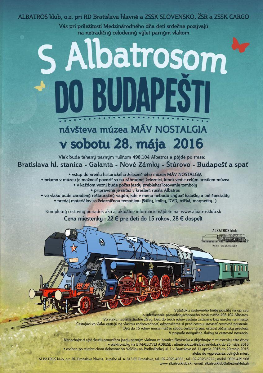 S Albatrosom do Buidapesti 2016