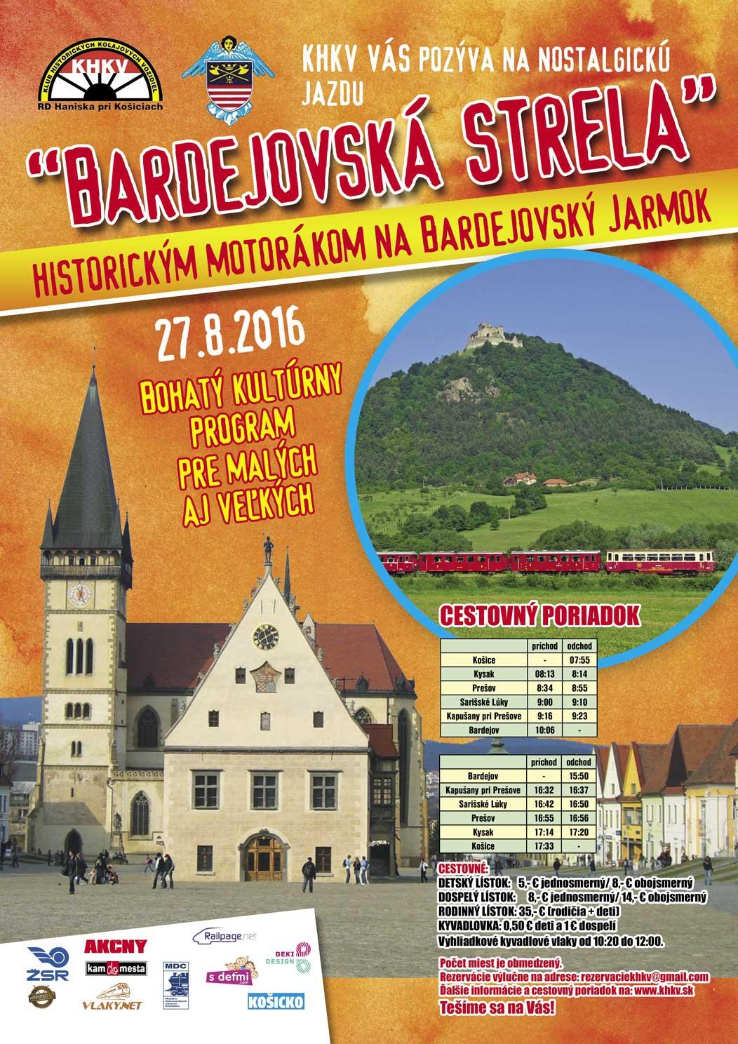 Bardejovska strela 2016
