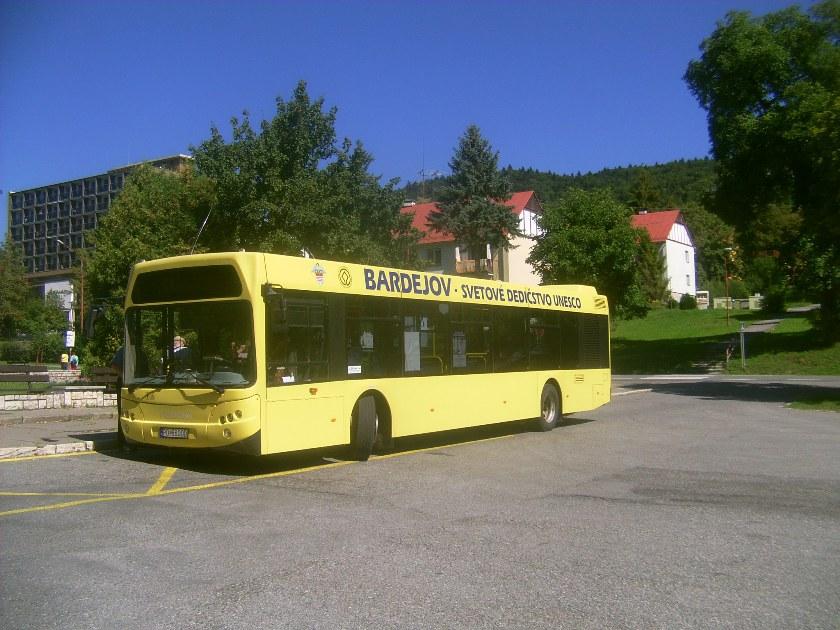 Bardejovský autobus Tedom
