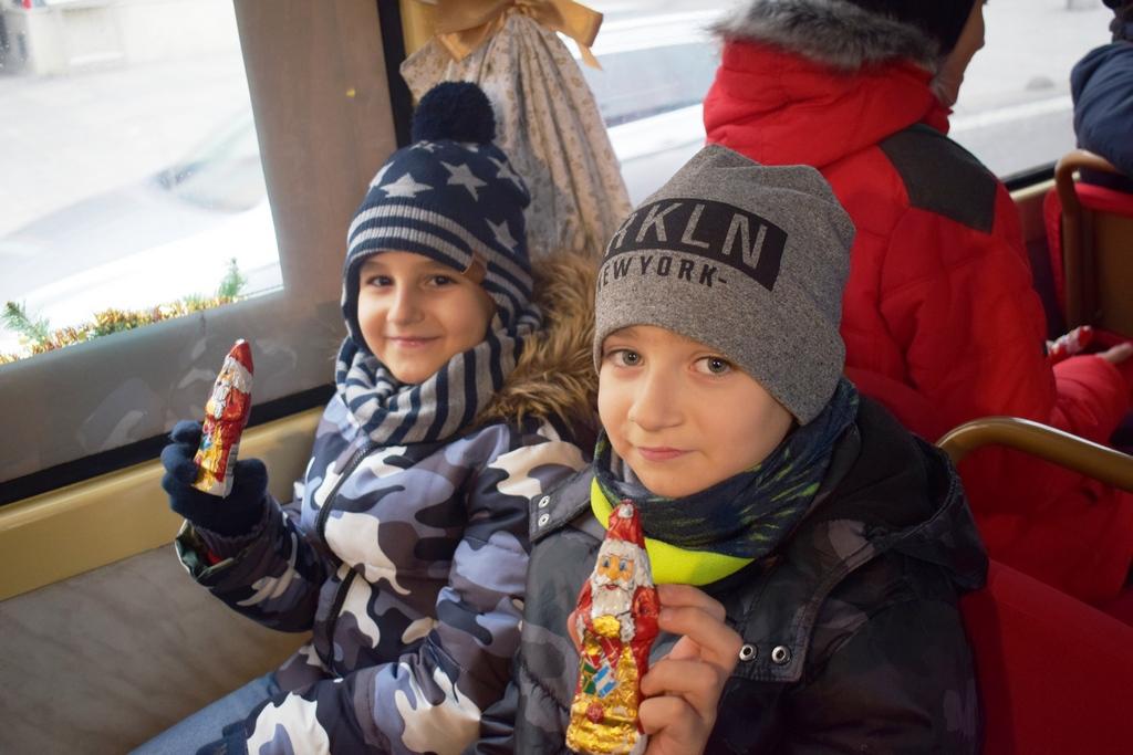 Novinárska jazda s deťmi so Spojenej školy na Mokrohájskej ulici.